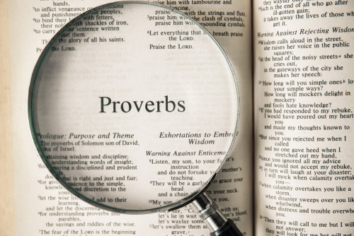 Bible Study – Verse by Verse – Proverbs (Chapters 13-15)