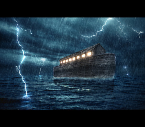 The Waters Bare Up the Ark